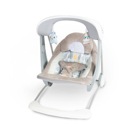 Tinnies Baby Swing and Seat Grey