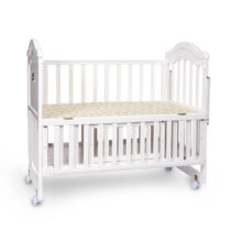 Tinnies Wooden Cot White