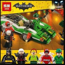 Lepin Batman The Riddler Riddle Racer
