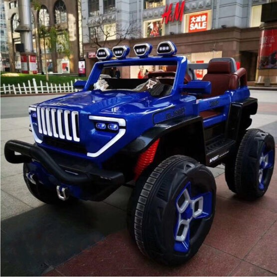 Electric Rechargeable Jeep Car for Kids with 1 Battery