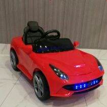 Electric Rechargeable RideOn Ferrari Car for Kids with 2 Batteries