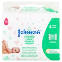 Johnson's Baby Skin Protect Wipes 4 x 48's