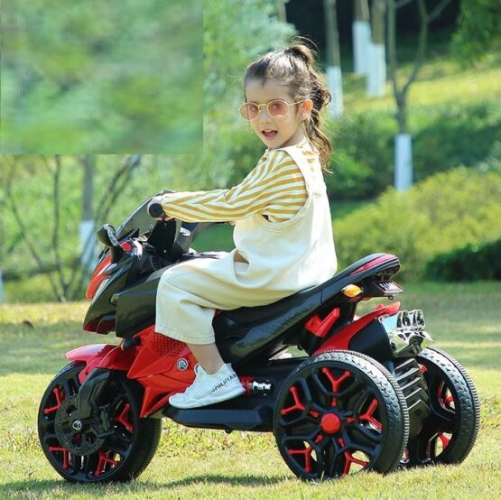 Electric Rechargeable Bike for Kids with 1 Battery
