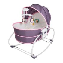 Mastela 5 in 1 Rocker Bassinet – Purple