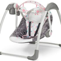 Mastela Deluxe Portable Baby Swing Toddler Pink