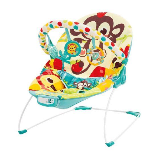 Mastela Newborn to Toddlers Musical Bouncer – Monkey