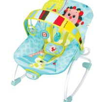 Mastela Newborn to Toddler Rocker – Light Blue/Green
