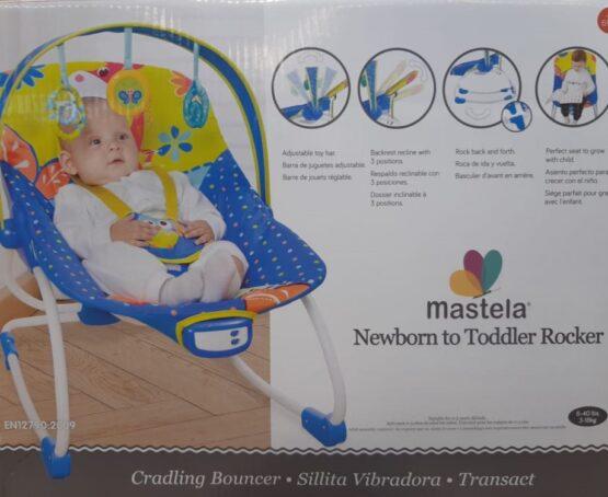 Mastela Newborn to Toddler Rocker Blue