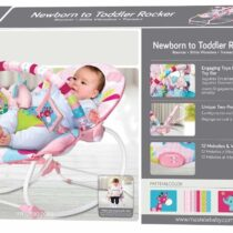 Mastela Newborn To Toddler Rocker – Pink
