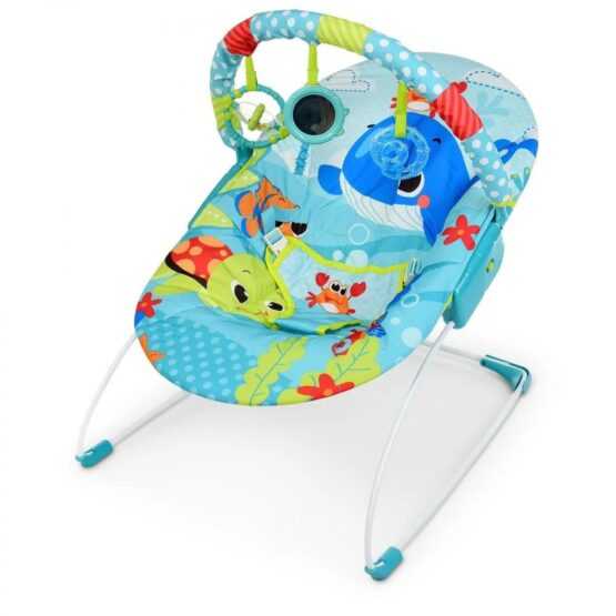 Mastela Newborn to Toddlers Musical Bouncer – Whale