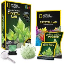 National Geographic Glow-in-the-Dark Crystal Lab Green