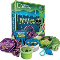National Geographic Mega Slime Kit & Laboratory Putty