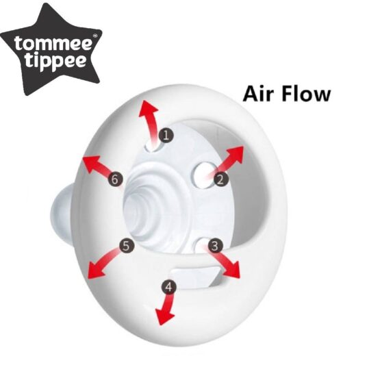 Tommee Tippee Closer To Nature Breast-Like Soother 6-18m