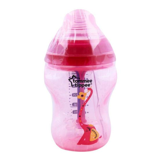 Tommee Tippee PP Feeding Bottle 0m+ 260ml Red