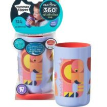 Tommee Tippee Easi Flow 360 Lip Activated Cup Purple 250ml 12m+