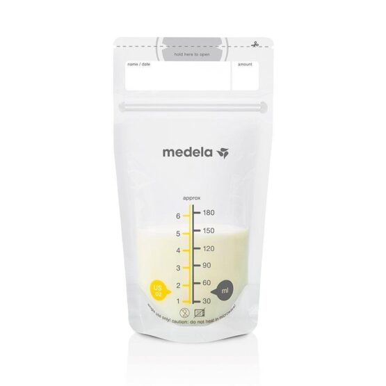 Medela Box of 25 Bags of Breast Milk Preservation