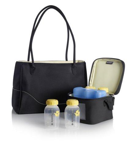 Medela CityStyle Breast Pump Bag Large Tote Back