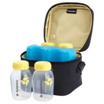 Medela Cooler Bag With 4 Breast Milk Bottle 150 ml