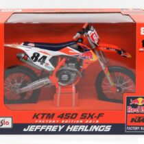 MAISTO KTM 450 SX-F Jeffrey Herligs KTM Supercross diecast model bike