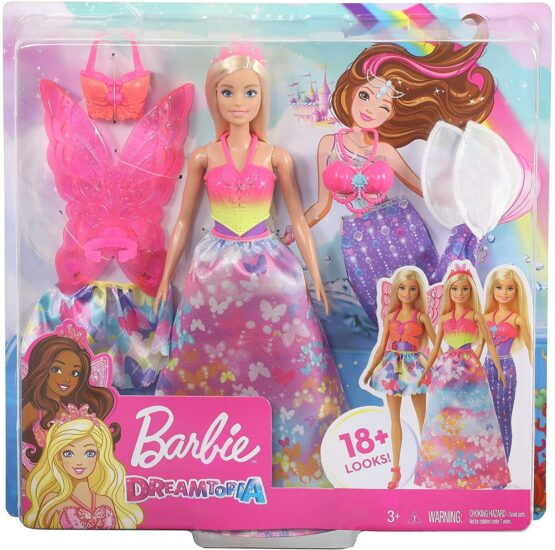 Barbie Dreamtopia Dress Up Gift Set