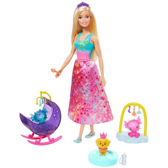 Barbie Dreamtopia Fantasy Story Doll - Style May Vary