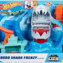 HotWheels Robo Shark Frenzy Play Set