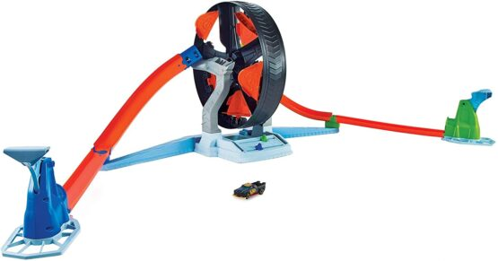 Hot Wheels Spinwheel Challenge Game for 5 Year Olds