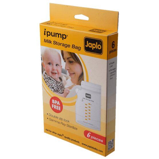 Japlo Milk Storage Bags x 6