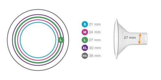 Medela Breast Shield 27mm