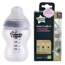 Tommee Tippee Closer To Nature Tinted Silver Bottle – 260ml