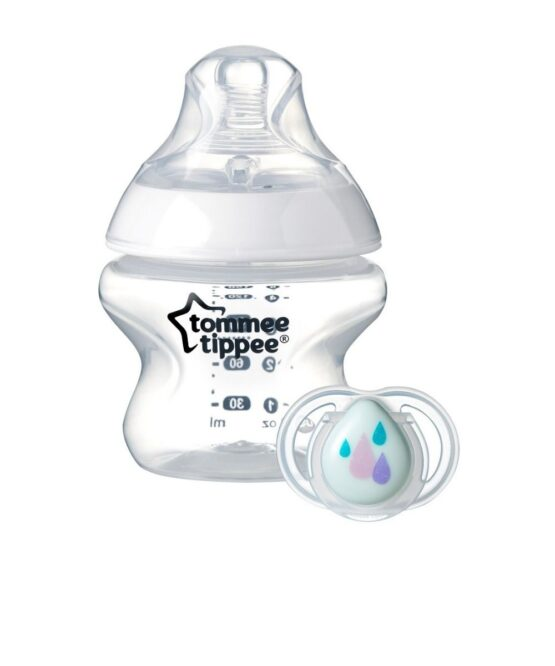 Tommee Tippee Closer To Nature Bottle -150ML & Soother