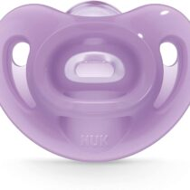 Nuk Sensitive Orthodontic Pacifiers, 0-6 Months, 3 Pack