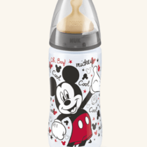 Nuk Disney Mickey Mouse First Choice Plus Baby Bottle 300ml – Color & Style May Vary