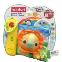 Winfun Jungle Pal Sensory Book