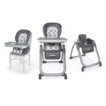 Ingenuity SmartServe 4-in-1 High Chair with Swing Out Tray – Clayton