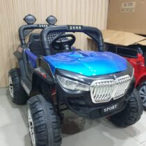 Electric Rechargeable Ride On Jeep – Blue