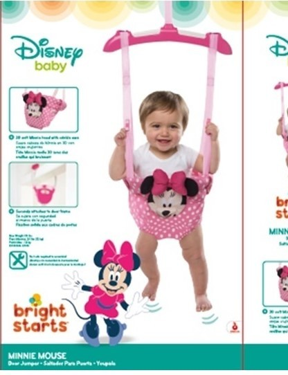 Bright Starts Bounce 'N Spring Deluxe Door Jumper Pink