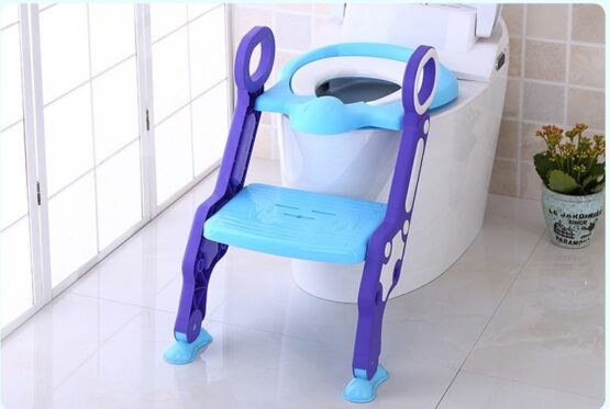 Toilet Seat for Children With Ladder Steps