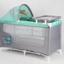 Foldable Baby Play Pen – Green