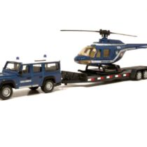 Bburago 1:50 Diecast Model Helicopter- Color & Style May Vary