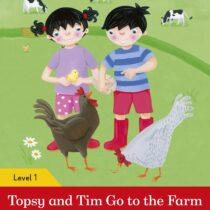 Topsy and Tim: Go to the Farm Activity Book Level 1