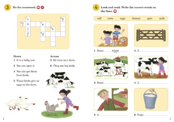 Topsy and Tim: Go to the Farm Activity Book Level 1 - 1