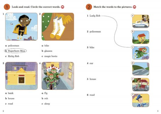 Superhero Max Activity Book Ladybird Readers Level 2 - 3