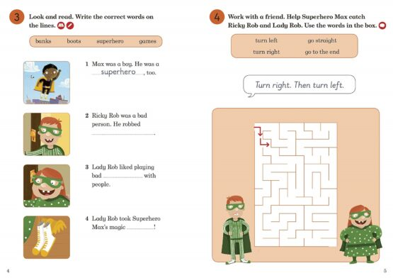 Superhero Max Activity Book Ladybird Readers Level 2 - 1