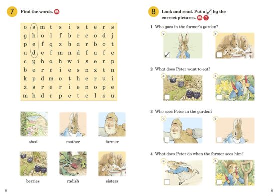 The Tale of Peter Rabbit Activity Book - 1