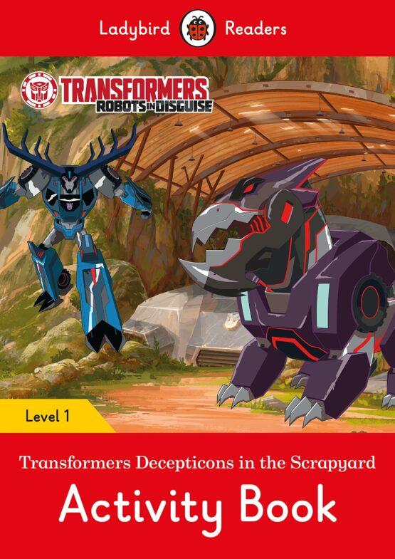Transformers: Decepticons in the Scrapyard Activity Book