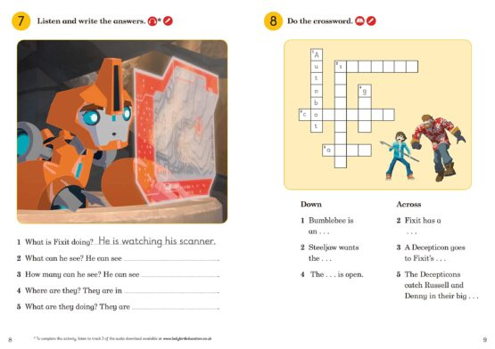 Decepticons in the Scrapyard Activity Book - 3