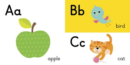 Learners Abc Board Book 2