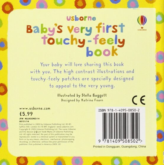Baby's Very First Touchy feely Book - 1