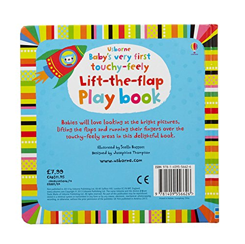 Babys Very First Touchy-Feely Lift Flap - 1